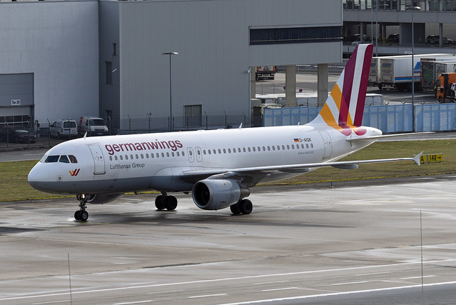 Germanwings Airbus A320-211 D-AIQK