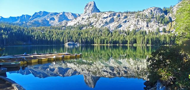 Crystal Crag Reflection, Lake Geroge, Sierra Nevada 2016