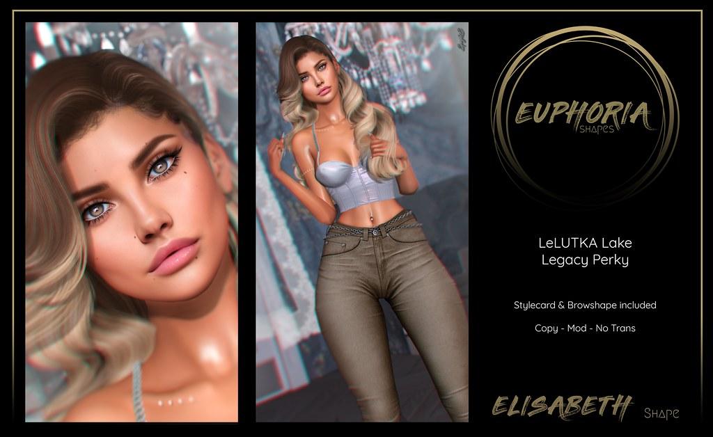 EUPHORIA Shapes - ELISABETH Shape ( LeLUTKA Lake )