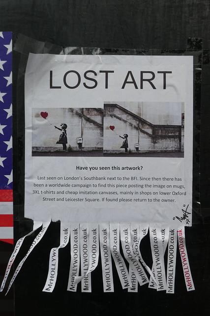 Mr Hollywood street art, Shoreditch
