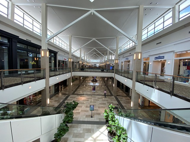 The mall in Raleigh NC is open, however, Governor Roy Cooper and his surrogate Mandy Cohen have successfully scared the shit out of everyone and no one is out shopping.