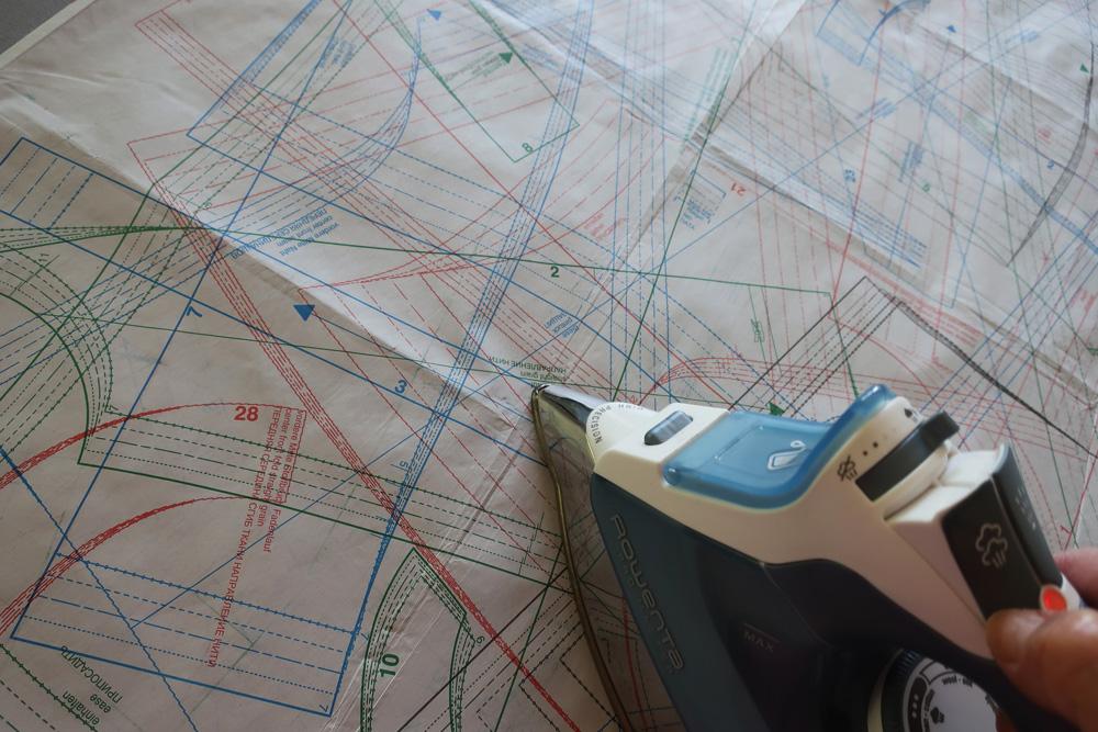 Burda iron pattern sheet