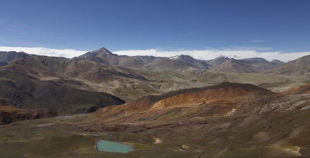 Drongpa county landscape, Tibet 2019