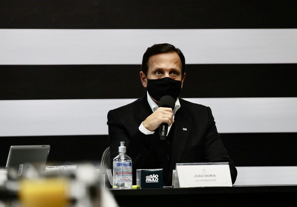 Reunião virtual com Prefeitos do Conselho Municipalista do Estado de São Paulo