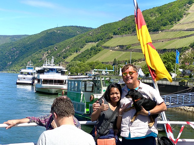 Rhine River Boat Trip in May 2020 - from Ruedesheim to Assmannshausen