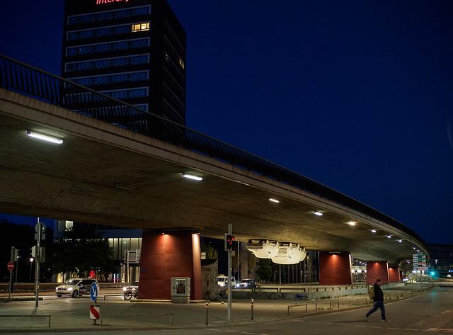 Hannover nachts allein