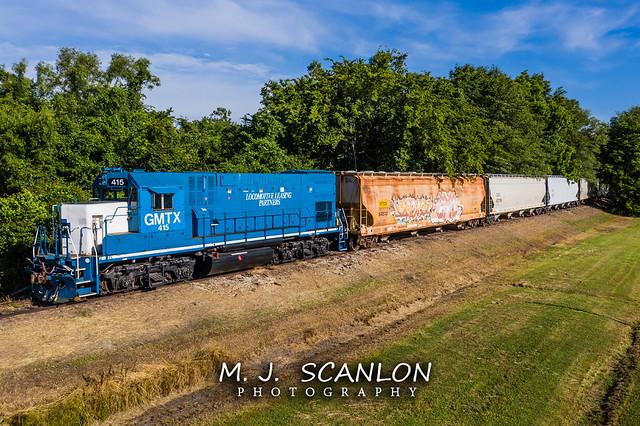 GMTX 415 | EMD GP15-1 | Rock Island Rail