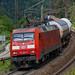 DB BR 152 kommt Geislinger Steige rauf.