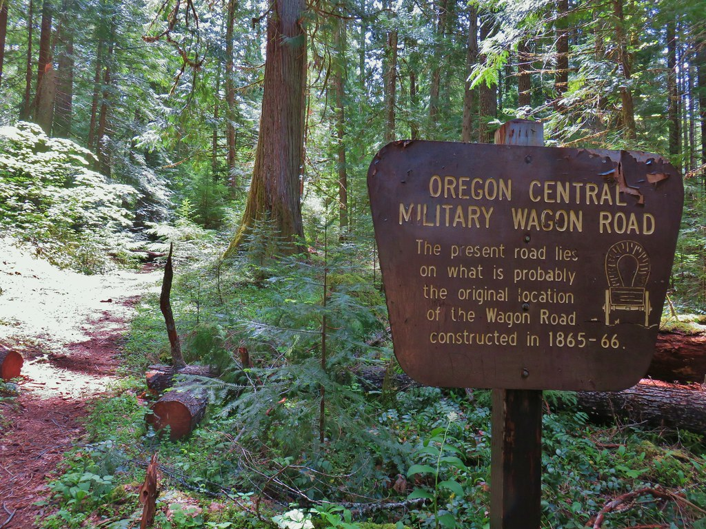 Another portion of the Oregon Central Military Wagon Road