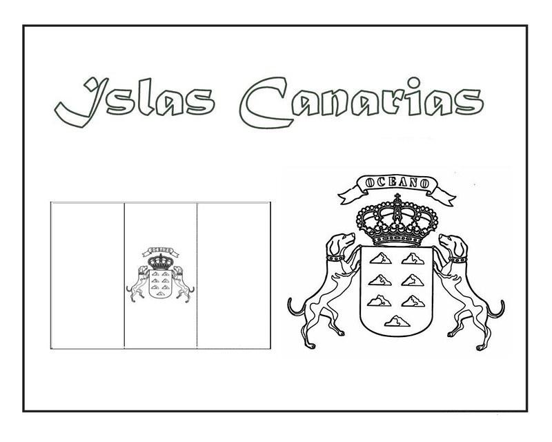 CANARIAS ESCUDO Y BANDERA JUGARYCOLOREAR2pg 1[2]