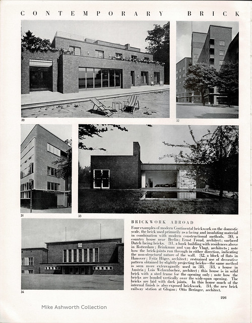 Architectural Review, May 1936 : Brick special issue ; Contemporary brick building 1