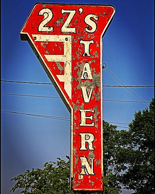 2 Z's TAVERN - White Horse Pike, Burlington County, New Jersey USA