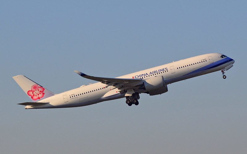 Airbus-A350-900-China-Airlines-B18906