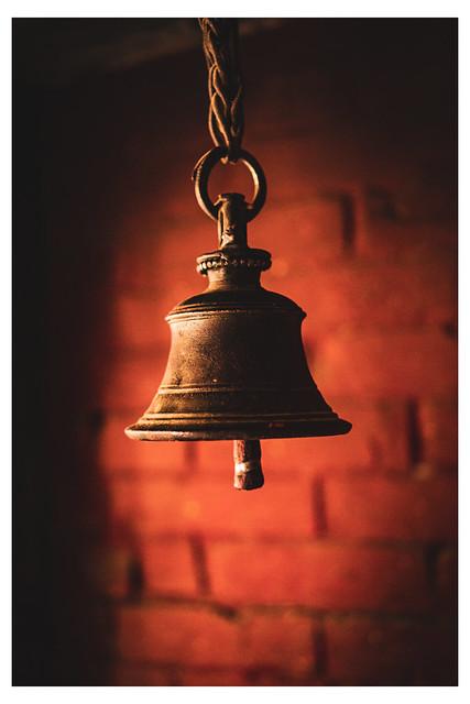 Single Hanging Bell - Prajnaparamita Text Shrine - Thamel District - Kathmandu, Nepal - Web 1-E_Scaled
