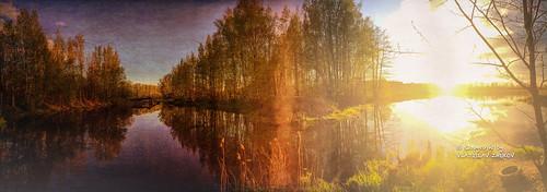 saintpetersburg russia topaztextureeffects textureeffects sun sky appleiphone6 iphone6 iphone river reflection sunset flickrrussia