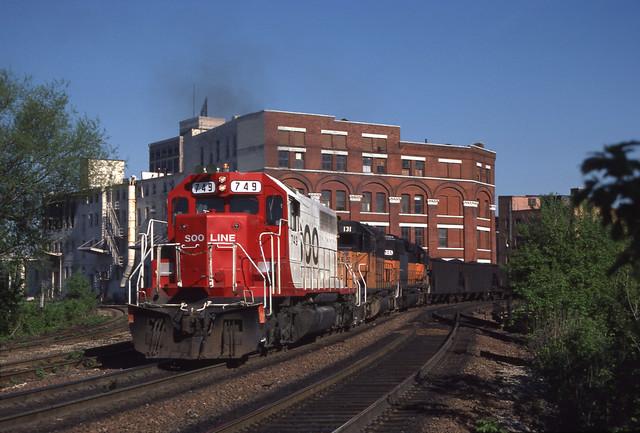 Soo Line 749 - 5/9/1987