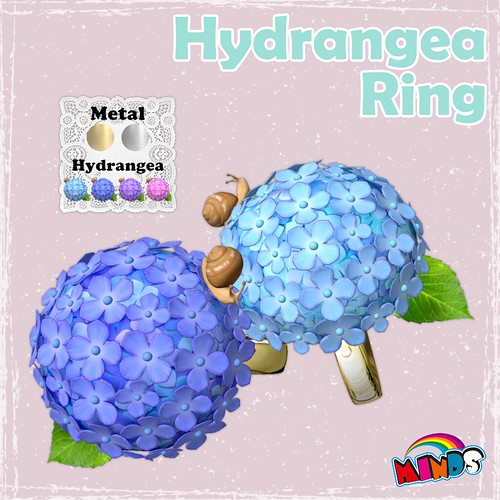 [MINDS] Hydrangea Ring AD