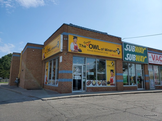 The Owl of Minerva Richmond Hill storefront