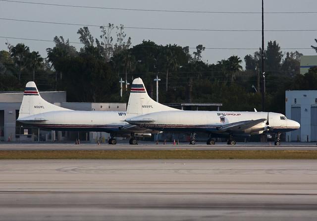 N991FL Convair 440 IFL Group