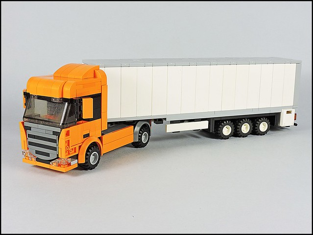 Scania R 4x2 Highline - Orange (2)