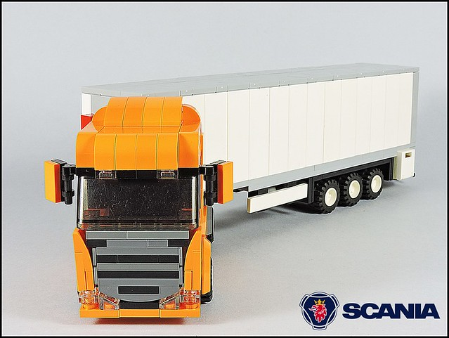 Scania R 4x2 Highline - Orange (0)