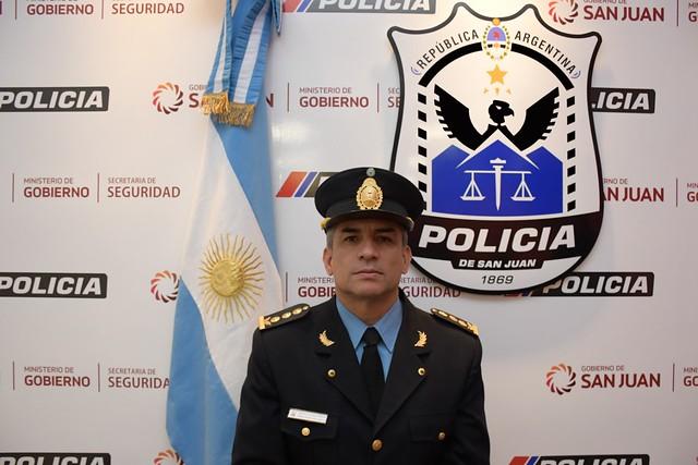 2020-05-26 SEGURIDAD: En detalle, los nuevos integrantes de la Plana Mayor de la Policía de San Juan