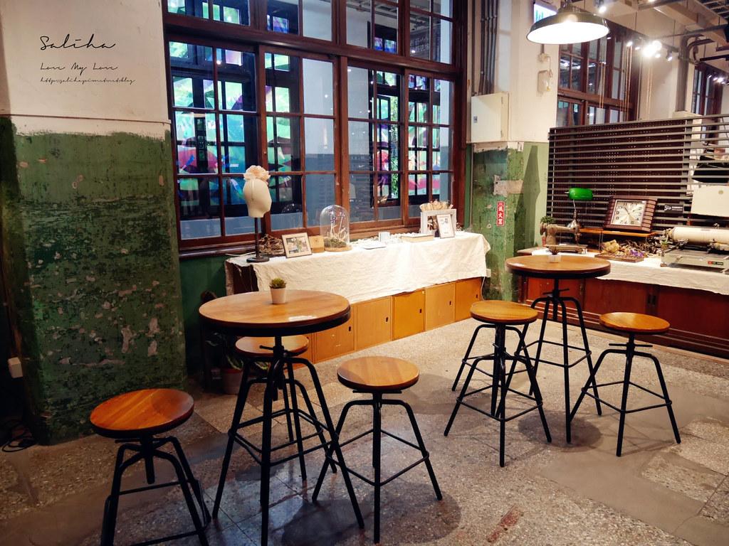 台北不限時咖啡廳適合久坐松山文創園區松菸小賣所下午茶推薦國父紀念館站 (3)