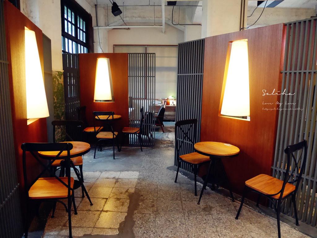 台北一日遊景點推薦松山文創園區松菸小賣所不限時文青咖啡廳下午茶 (1)