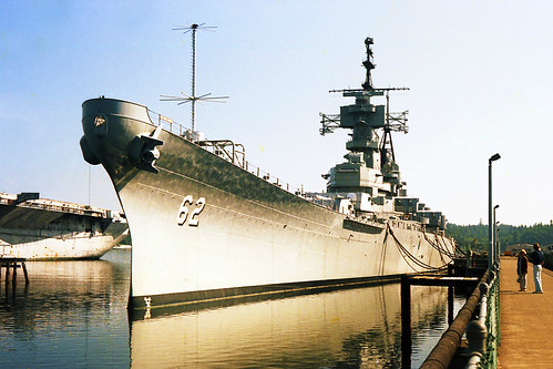 USS New Jersey BB-62 at Bremerton, Washington, August 1980