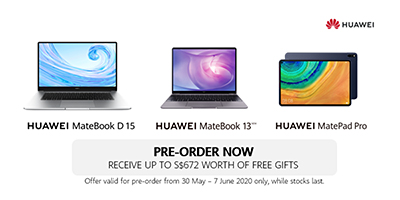 Huawei's two mainstream laptops and flagship tablet focus on mobile productivity, innovative smart design and delivery of a seamless and powerful user experience.