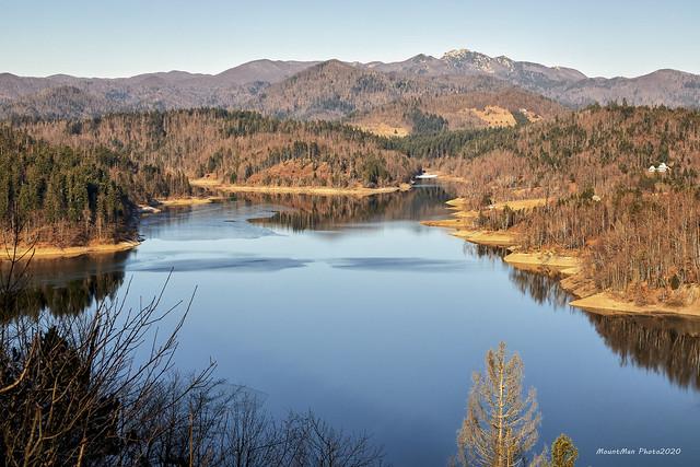 Lokvarsko jezero i Risnjak ove zime