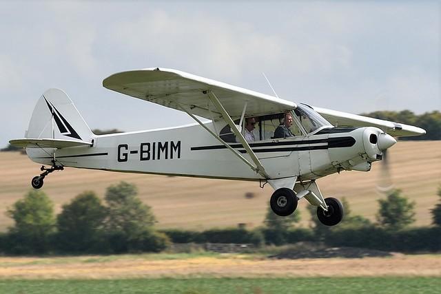 Piper Super Cub L-21B  Last Military s/n 54-2468 USAF G-BIMM