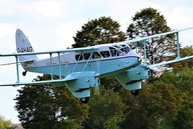 De Havilland Dragon Rapide DH-89A G-AHAG RAF RL944