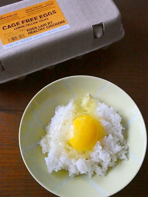 卵かけご飯 Egg on rice