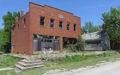 Old I.O.O.F. Hall and Post Office 67453 (Idana, Kansas)