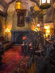 Interior of Hollywood Tower Disney World
