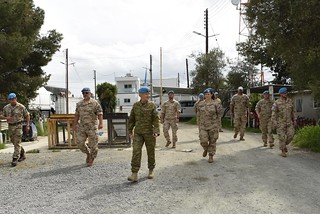Peacekeepers in Cyprus prevent spread of COVID-19 | by United Nations Peacekeeping