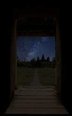 Photoshop: The Milky Way in Angkor Wat