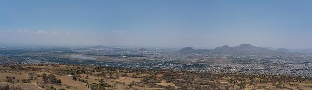 Vista desde el volcán Teuhtli