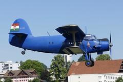 Antonov AN-2 HA-ABA approaching Emmen Air Base Switzerland 2020