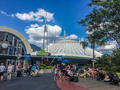 Space Mountain at Disney World
