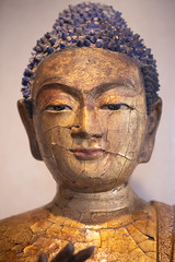 Buddha contemplates the story of what a depressed king learned after he was able to speak with his ex-wife in her next life