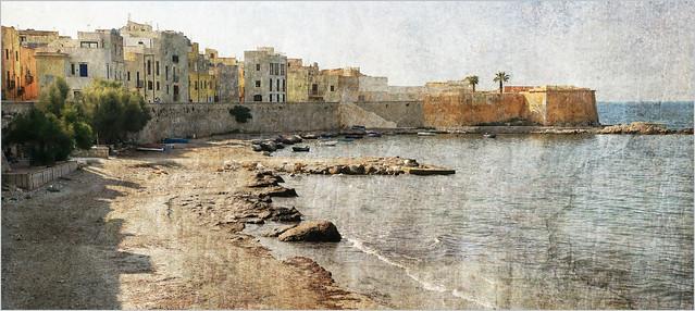 Lugomare à Trapani, Sicile, Italie