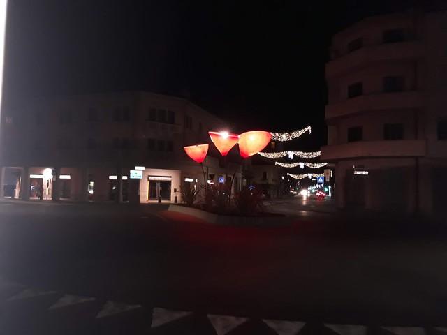 mestre - arredo urbano - night