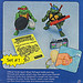 Playmates Toys TEENAGE MUTANT NINJA TURTLES ::  Gags, Jokes and Crazy Weapons #3 ..card backer iv  (( 1988 ))