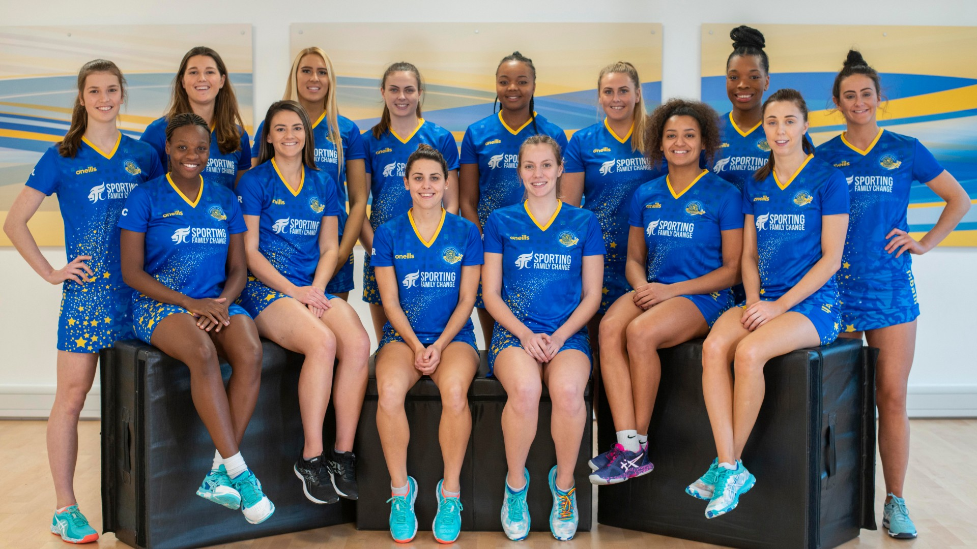 The Team Bath netball team