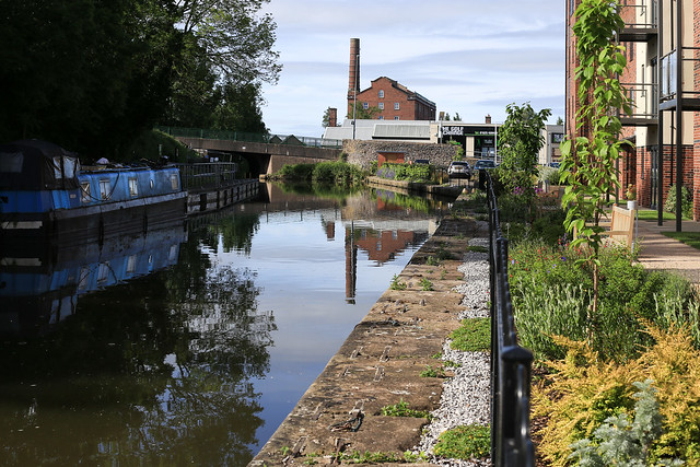 A Lockdown morning on the Macclesfield Canal