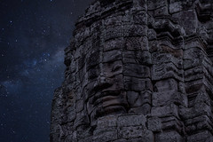 Photoshop: The Milky Way in Angkor Thom