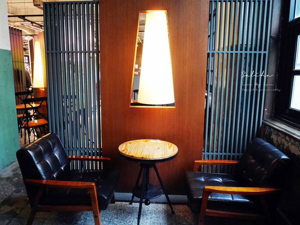台北文創文青咖啡廳下午茶推薦松菸小賣所不限時間聊天聚會分享 (1)