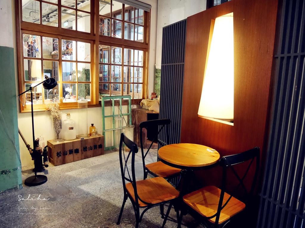 台北文青一日遊景點推薦ig打卡拍照好拍咖啡廳松菸小賣所復古特色不限時間可久坐閱讀 (5)